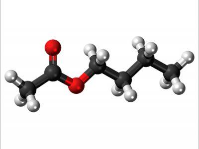 Butyl-acetate-3D-ball